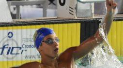 Nuoto – Applausi a scena aperta per il mezzofondista di Latina Matteo Ciampi