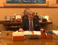 Il Vice Capo della Polizia, Nicolò D'Angelo, in visita alla Questura di Latina.