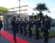 Il Generale di Corpo d'Armata Edoardo Valente in visita a Latina