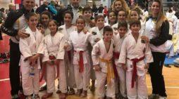 """Ottima prova degli atleti della """"A.s.d Judo Kodokan Aprilia-Anzio-Nettuno"""" alle gare federali Fijlkam di Monterondo."""