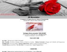 """""""Nemmeno con un fiore"""", due giorni di eventi a Cisterna contro la violenza sulle donne"""