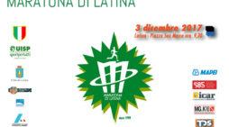 """""""Maratona di Latina"""": domenica 3 dicembre in scena la 20esima edizione."""