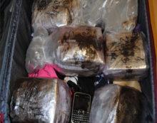 Nascondeva dentro una valigia 12 chili di hashish. La Polizia di Velletri arresta un magrebino di 26 anni.