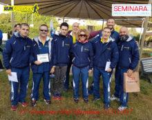 """Gli atleti della """"Runforever Aprilia"""" alla Maratonina di Fiumicino e alla Mezza Maratona di Verona."""