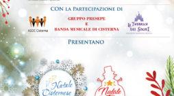 """""""Natale cisternese"""": le iniziative di questo fine settimana in centro a Cisterna."""