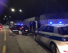 La Polizia Municipale di Latina in servizio anche il sabato notte.