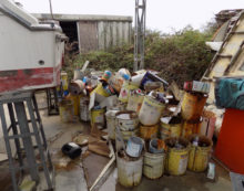 Discarica di rifiuti pericolosi sequestrata dalla Forestale a Sabaudia
