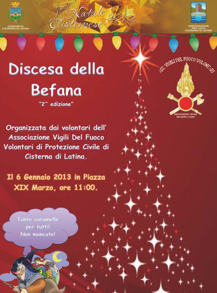 Cisterna Tanti Eventi Per Il Fine Settimana Della Befana Radio
