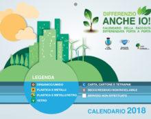 Differenziata porta a porta ad Aprilia: ecco il calendario da aprile 2018 a gennaio 2019.