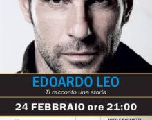 """""""Ti racconto una Storia"""": Edoardo Leo sabato 24 febbraio in scena al Teatro Europa di Aprilia."""
