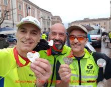 Maratona di San Valentino, gli atleti della Runforever Aprilia in prima linea
