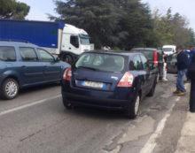Code questa mattina anche sulla Nettunense per un incidente tra Aprilia e Campoleone, ora rimosso.