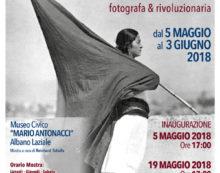 Ad Albano una mostra dedicata alla grande fotografa Tina Modotti.
