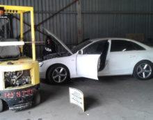 Pomezia, officina abusiva per il riciclaggio di veicoli rubati:  2 arresti