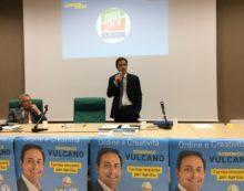 APRILIA – Il candidato sindaco Domenico Vulcano presenta la sua coalizione di centrodestra e il programma elettorale.