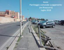 ANZIO – Parcheggio comunale sull'Ardeatina in stato di abbandono: la denuncia di CittàInsieme.