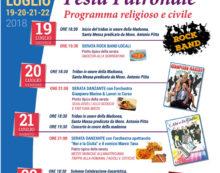 Festa Patronale a Campo di Carne: ecco il programma del fine settimana.