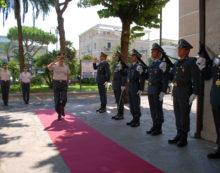 Il Comandante regionale della Guardia di Finanza visita la Compagnia di Terracina