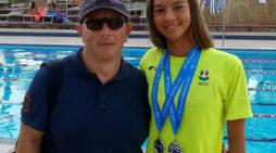 Campionati italiani di nuoto: Francesca Romana Furfaro, di Frascati, tra le dieci protagoniste della finalissima dei 50 dorso.
