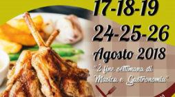 """Sino al 26 agosto, nel fine settimana, """"Sagra dell'Agnello"""" a Rocca Priora."""