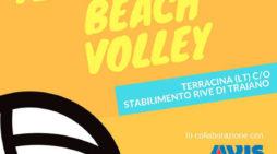 Torneo di Beach Volley a Terracina organizzato dall'Avis Provinciale di Latina.