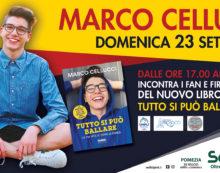 La star del web Marco Cellucci ospite del Centro Commerciale Sedici Pini di Pomezia