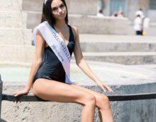 La 18enne Nicole Ceretta, originaria di Latina, arriva quarta a Miss Italia.