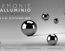 """Allo Spazio Comel di Latina la mostra """"Armonie in Alluminio""""."""