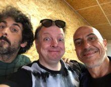 """Al Mercatino dell'Usato di Aprilia le riprese per la puntata pilota della nuova sit-com """"Affari di Famiglia""""."""
