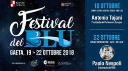 """Il Presidente del Parlamento Europeo, Tajani, inaugura il """"Festival del Blu"""" a Gaeta."""