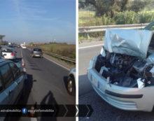 Code sulla Pontina in direzione Roma, tra Via Apriliana e Via Laurentina, per un incidente.