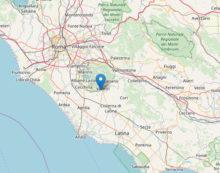 La terra trema a Velletri: registrata una scossa di terremoto di magnitudo 2.5.