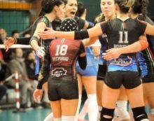 Pallavolo B1 – Colpo grosso della Giò Volley Aprilia che strappa i 3 punti a Lamezia