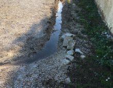 Perdita d'acqua da settimane a Borgo Montello