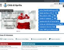 Presentato il nuovo sito web del Comune di Aprilia.