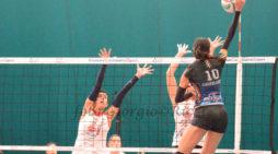 La Giò Volley Aprilia vince ancora e blinda il primo posto