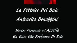 """""""Un buio che profuma di Sole"""": al Teatro Europa di Aprilia la mostra di Antonella Bonaffini."""
