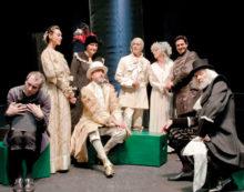 """Ad Aprilia l'8 febbraio in scena """"L'Avaro"""" diretto da Ugo Chiti. Sul palco Alessandro Benvenuti."""