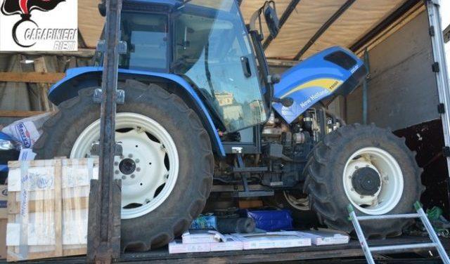 Operazione Bobcat, mezzi pesanti rubati e rivenduti all'estero. 7 arresti
