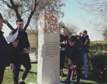 Aprilia, inaugurata la stele in ricordo di Giorgio Buzzi