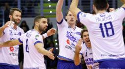 Pallavolo maschile di Superlega: la Top Volley Latina in casa del Castellana Grotte.