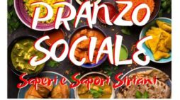"""""""Saperi e Sapori Siriani"""": domenica 24 marzo pranzo sociale al circolo """"Sottoscala9"""" di Latina."""
