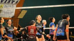 Pallavolo – La Giò Volley Aprilia batte l'Assitec Sant'Elia