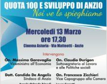 """""""QUOTA 100 e Sviluppo di Anzio"""", un meeting nazionale con l'onorevole Claudio Durigon"""