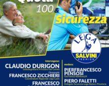 """""""Sicurezza"""" e """"Quota 100"""": al Teatro Artemisio di Velletri un incontro promosso dalla Lega."""