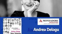 """La scrittrice Andrea Delogu a Velletri per presentare il suo nuovo libro """"Dove finiscono le parole"""" sulla dislessia."""