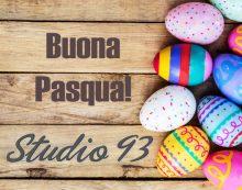 Buona Pasqua e felice Pasquetta da tutto lo staff di Studio 93!
