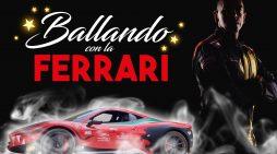 Ballando con la Ferrari, sabato 27 aprile Cinecittà World si tinge di rosso
