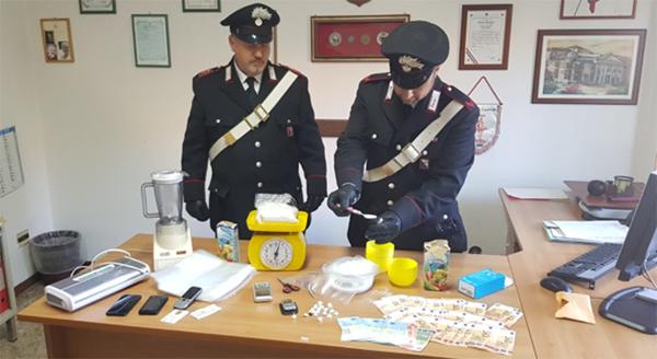 Sequestrato oltre un chilo di cocaina a Cori: i Carabinieri arrestano un 22enne albanese.