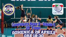 Volley femminile di serie D, penultima gara di campionato per la Giò Volley Aprilia.